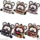 Girls Womens Child Mini Mickey Canvas Backpack School Bag Satchel Messager Bag