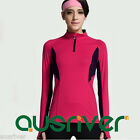 Ladies Sports Long Sleeve Top Shirt Fitness Yoga Gym Workout Suits Stretch Pants