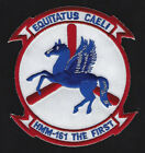 HMM-161 GREYHAWKS PATCH US MARINES PIN UP USS 3D MAW GIFT MCAS HELICOPTER WOW
