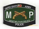 MOS 31A B D E 311A US ARMY MILITARY POLICE CORPS MP CID HAT PATCH FORT PIN UP