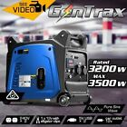 NEW 149.5cc 3.5kW GenTrax Pure Sine Wave Inverter Generator, LCD Display Output