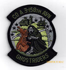 COMPANY A 3-158TH AVIATION GHOSTRIDERS HAT PATCH US ARMY VETERAN GIFT PIN UP