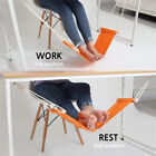 NEW FOOT REST HAMMOCK UNDER DESK OFFICE FOOTREST MINI STAND HANGING SWING SALE