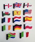 Car Aerial Flag Topper England USA Germany France Union Jack Ireland Poland