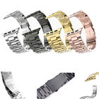 For Apple Watch iWatch Stainless Steel Band Strap Classic Buckle Adapter 42mm/38