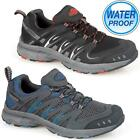Mens NORTHWEST Leather Walking Hiking Waterproof Trainers Low Cut Running Shoes