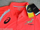 ASICS SOUTH AFRICA SPRINGBOKS RUGBY PLAYERS PERFORMANCE POLO SHIRT JERSEY
