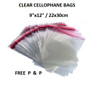 T-shirt Leggings Clear Garment Bags With Self Seal Adhesive Tape  Mailing Bags.