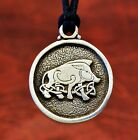 Celtic Boar Pewter Pendant