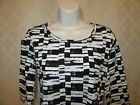 Long Sleeve Tee Blouses Daisy Fuentes XL,L,M,S,XS,Many Color 100% cotton & other