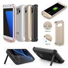 Samsung Galaxy S7 S8 edge Plus External Battery Backup Case Charger Power Bank