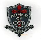 ARMOR OF GOD HAT PATCH SHIELF SWORD JESUS CHRISTIAN GOD PIN UP GIFT QUILT SPIRIT