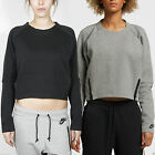 Nike Women's Tech Fleece Aeroloft Activewear Jogging Crew Neck Sweatshirt Top