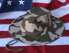 BOONIE HAT CAP US ARMY VETERAN DESERT CAMOFLAUGE CAMO PIN UP GIFT TACTICAL