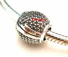 925 Sterling Silver Epcot Spaceship Earth Fit European Bead Charm Bracelet