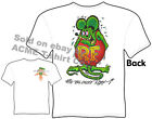 Ratfink T Shirts Big Daddy Clothing Ed Roth T Shirts Signature Apparel Tee
