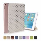 For iPad Mini Screen Protector/Bling Star Ultra Slim Magnetic Smart Cover Case
