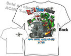 Rat Fink T Shirt Blood, Sweat & Grease Big Daddy Ed Roth Shirt Sz M L XL 2XL 3XL
