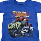 Blaze and the Monster Machines Trucks Boys Toddler T-Shirt Size 3T 4T 5T Blue