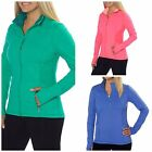 New KIRKLAND WOMENS FULL ZIP ATHLETIC JACKET You Pick SIZE & COLOR