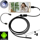 1.5/3.5M Android Endoscope 5.5mm 6 LED Waterproof Borescope Inspection Camera