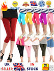 ☆☆NEW☆☆ Women's Seamless Leggings Yoga Stretch Skinny Cropped Pants Candy Color