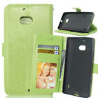 New Magnetic PU Leather Wallet Card Holder Stand Case Cover For Lenovo Phone