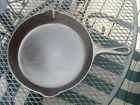 Vintage Griswold No. 8 Cast Iron Frying Pan Flat Bottom Nice!!!!!!