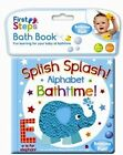 Soft Colorful Plastic Coated Baby Bath Book Fun Educational Kids Toddler Toy New