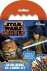 Wholesale Job Lot 36 Star Wars rebels Carry Along Colouring Sets