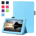 """Ultra Slim Leather Case Stand Cover for Amazon Kindle Fire 7 2015 2016 7""""Tablet"""