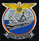 USS ANTIETAM CV36 CVA CVS AIRCRAFT CARRIER US NAVY PATCH PILOT PIN UP PILOT GIFT
