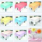 Rectangle Tablecloth Table Cover for Banquet Wedding Party Home Decor 5Colors LJ