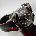 41mm CORGUET black dial Sapphire Glass miyota 10 ATM Automatic diving mens Watch image