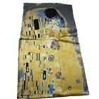 Carltys 100% Pure Silk Scarf. 5 Elegant and Famous work's of Gustav Klimt's
