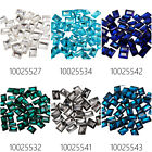 20Pcs 10*14mm Rectangle Cushion Cut Fancy Stone Glass Crystal For 4527