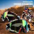 Motorcycle MX Goggles Glasses Dirt Bike Racing Off Road Motocross Occhiali nuovo