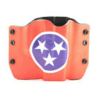 Walther, Tennessee Flag, OWB Kydex Gun Holsters