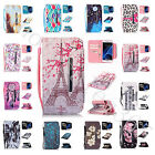 New Wallet Purse Case Magnetic Synthetic Leather With Strap Card Cover For Phone