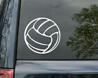 "Volleyball Vinyl Decal Sticker Indoor Beach Grass Serve Spike 5"" X 5"""