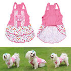 Puppy Small Dog Cat Pet Clothes Dress Vest T Shirt Costume Coat Apparel Skirt