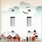 Nautical Seaside~Light Switch Cover~ Home Decor~Beach House~Choose Your Plate~