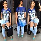 New Summer Women Short Sleeve Vintage Printed T Shirt Casual Tops Loose Blouse