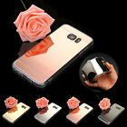 Luxury Ultra-Slim Mirror Silicone Gel TPU Case Skin Cover For Samsung Galaxy