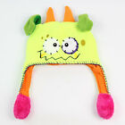 Cute Cartoon Squeeze Hat 5 Colors Monster Boy/ Girl Warm Hats One Size Fits All
