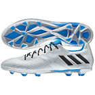 adidas 16.3 TRX FG Messi 2016 Soccer Shoes Silver - Blue - Black Kids Youth