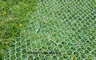 10 SQUARE METRE GRASS PROTECTION MESH 460gsm TURF REINFORCEMENT MESH + 20 U PINS