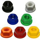 Nylon SERRATED FLANGE NUTS Nuts Choose a size, Colour, & Quantity