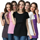 NEW Loose Maternity Clothes For Pregnant Women Nursing Tops Breastfeeding Shirt