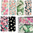Ultrathin Various Flower Pattern Soft Rubber Case Cover For iPhone 7 6 6s Plus